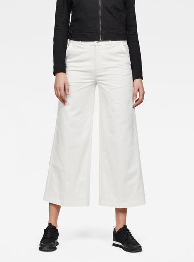 Bronson High waist Loose 7/8-Length Chino