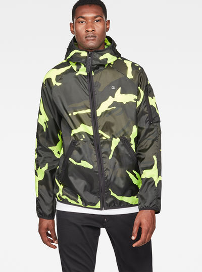 Strett Hooded Jacket