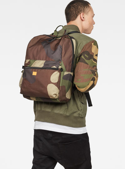 Estan Patterned Light Backpack