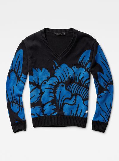 Sangona Flower Knit