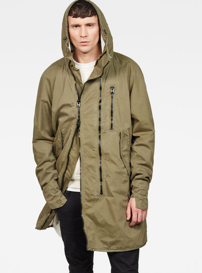 Strett Hybrid Archive Hooded Parka
