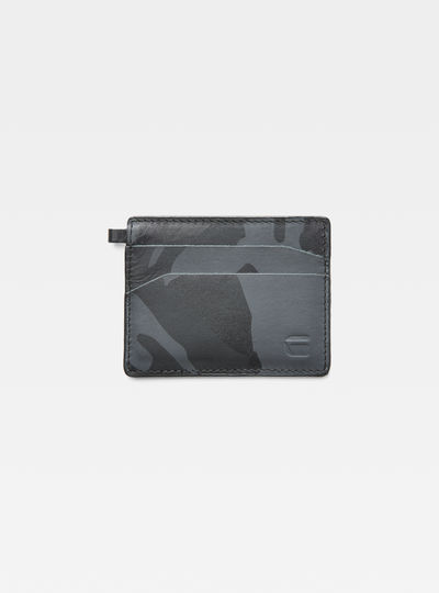 Zallik Patterned Credit Card Holder