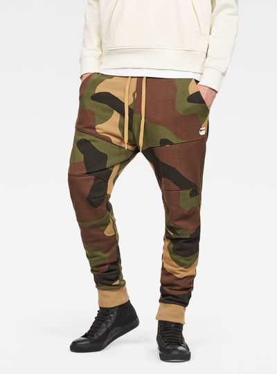 Oversized  Dutch Camo 5621 3D Tapered Sweatpants