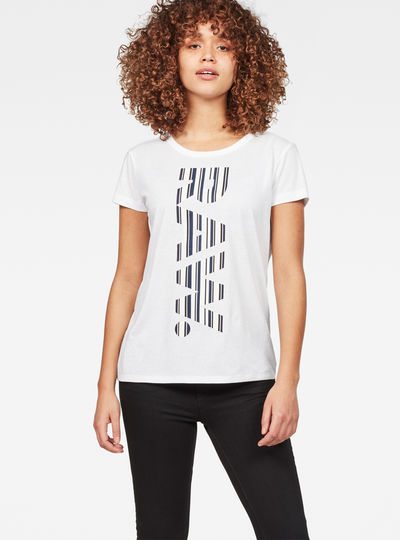 Raw Correct Rowinda Straight T-Shirt