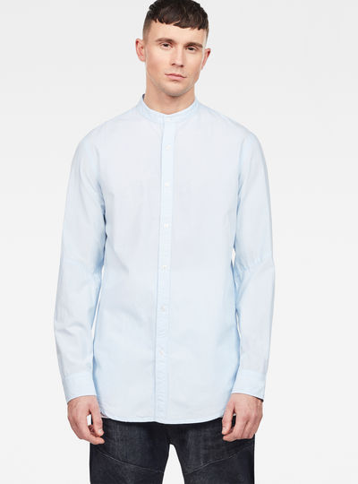 Bristum Collarless Relaxed Shirt