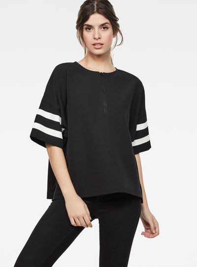 Hybrid Archive Zip sport top
