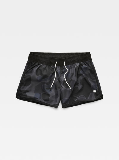 Dend Patterned Swimshort