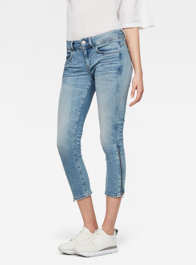 Lynn Ultra High waist Skinny 7/8-Length Jeans