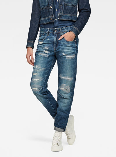 Arc 3D Mid waist Boyfriend GS Restored Jeans