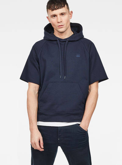 Tendric Stor Hooded 1/2-Sleeve Sweater