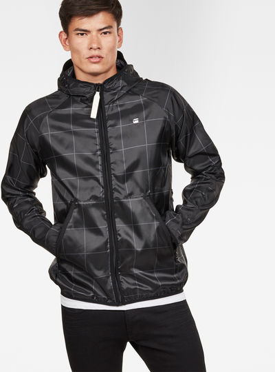 Strett Hooded Overshirt + Gymbag