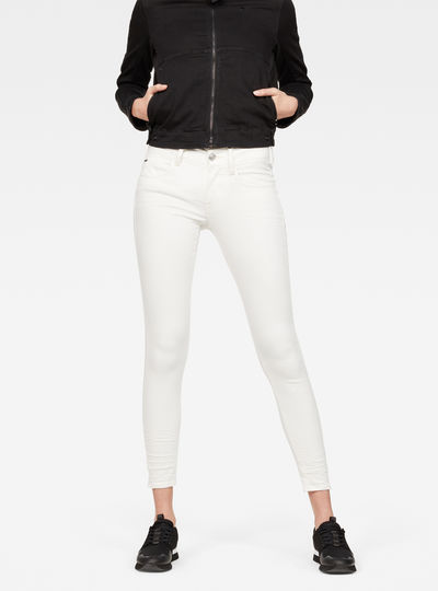 Lynn D-Mid Super Skinny Ankle Jeans