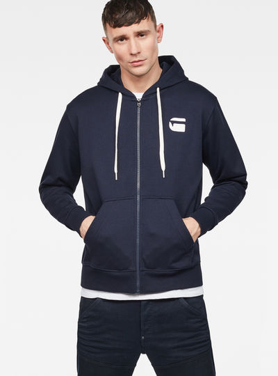 Core Zip-Hooded Zip Sweater
