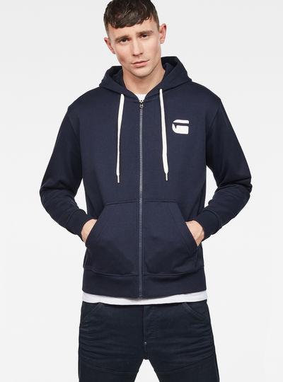Core Zip-Hooded Zip Sweater