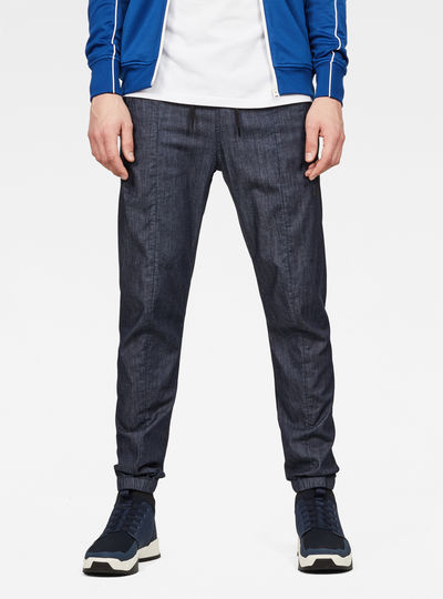 Lanc Straight Tapered Cuffed Pants