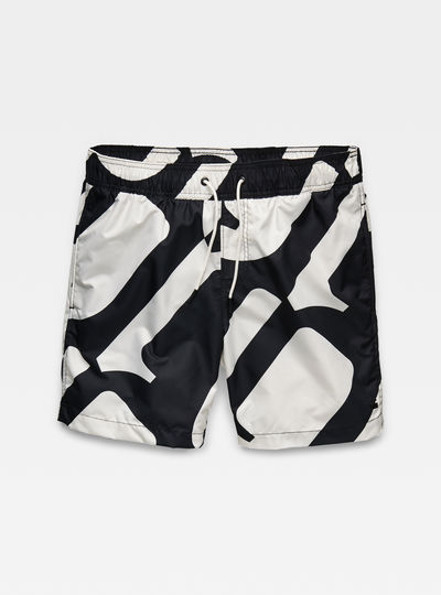 Dirik Pattern Swimshorts