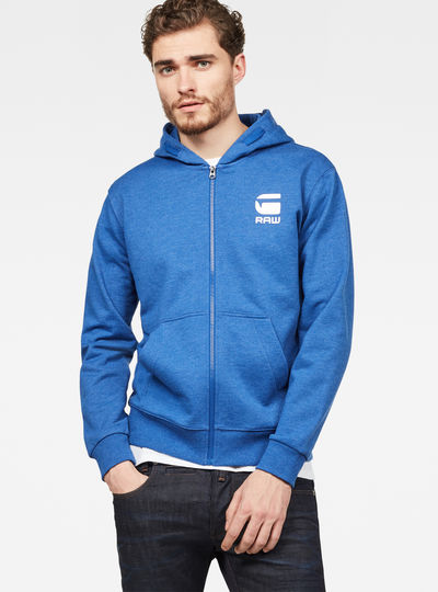Doax Hooded Zip Thru Sweat