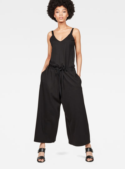 Raw Correct V-Neck Sleeveless Jumpsuit