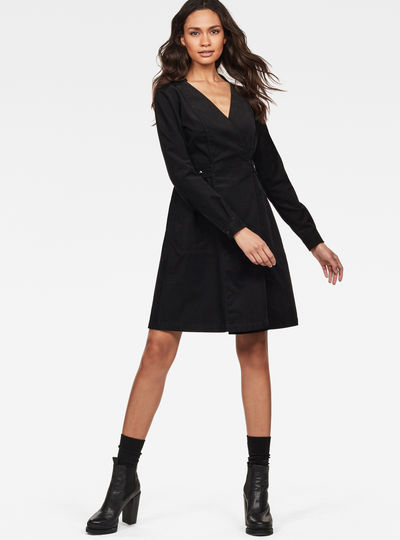 Core Wrap Dress
