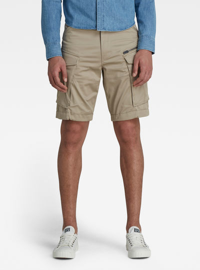 Rovic Zip Loose 1/2-Length Shorts