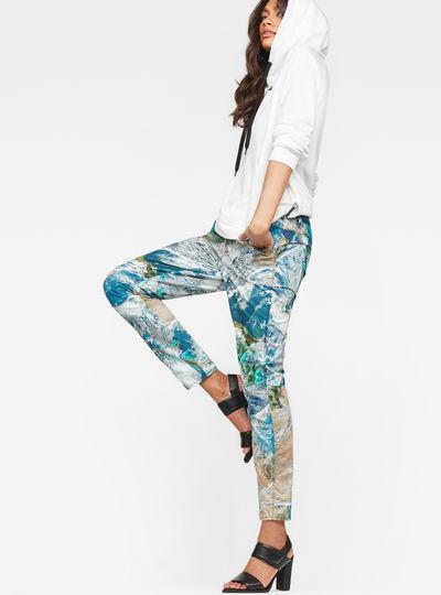 G-Star Elwood 5622 3D Mid waist Boyfriend Color Jeans
