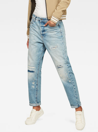 Mid waistge Saddle High waist Boyfriend Jeans