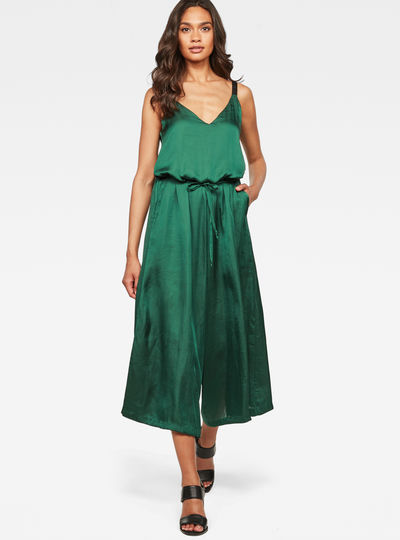 Bristum Wide Leg 7/8 Jumpsuit