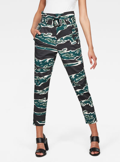 Rovic High waist Paperbag Pants