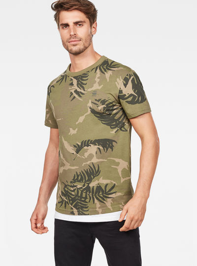 Graphic Hawaii Camo Relaxed T-Shirt