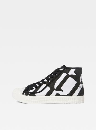 Rovulc Pattern Mid Sneakers