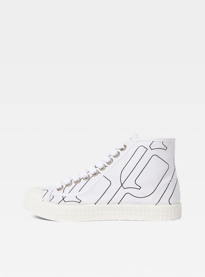 Rovulc Pattern Mid Sneakers