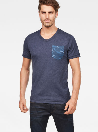 Hawaii Camo Kantano Slim T-shirt