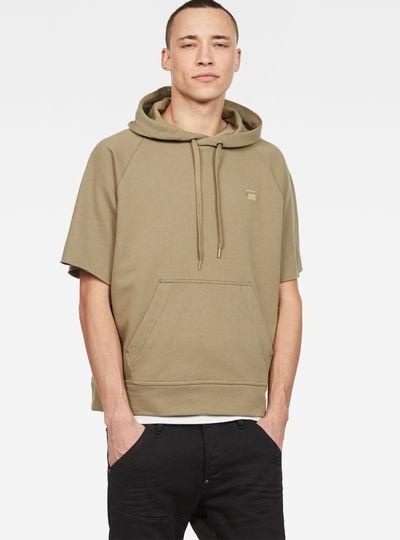Tendric Stor Hooded 1/2-Sleeve Sweater