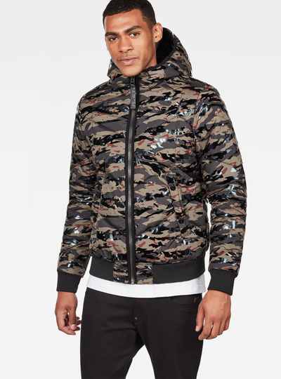 Whistler Meefic Quilted Hooded Bomber