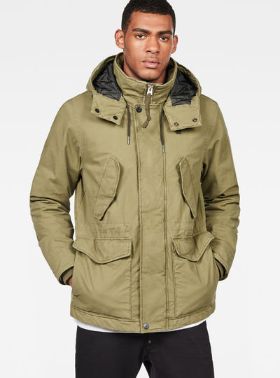 Vodan Padded Hooded Jacket
