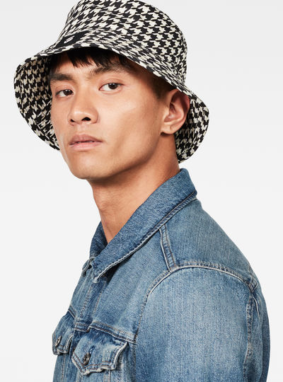 Staples Patterned Bucket Hat