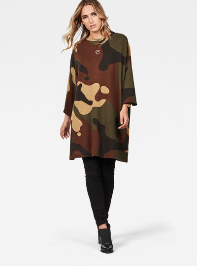 Oversized  Dutch Camo XXL Sweater
