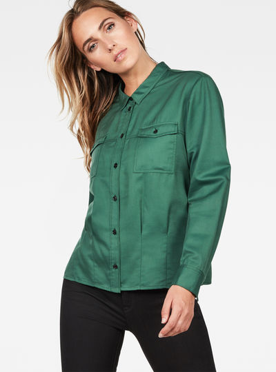 Rovic Pleated Shirt