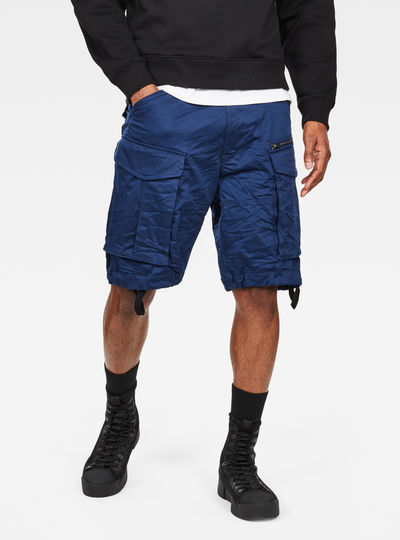 Rovic Zip Loose 1/2 Length Shorts