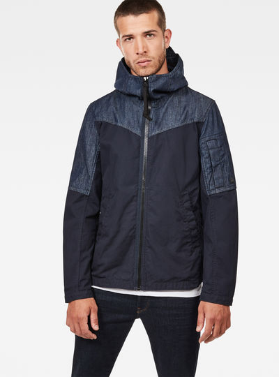 Batt Hooded Overshirt