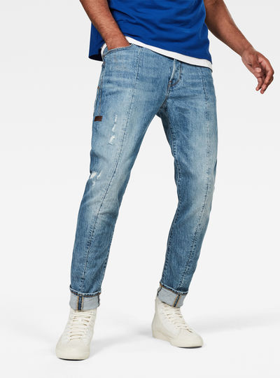 Lanc 3D Straight Tapered Jeans