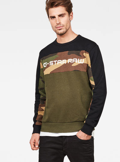 Swando Camo Block Sweat