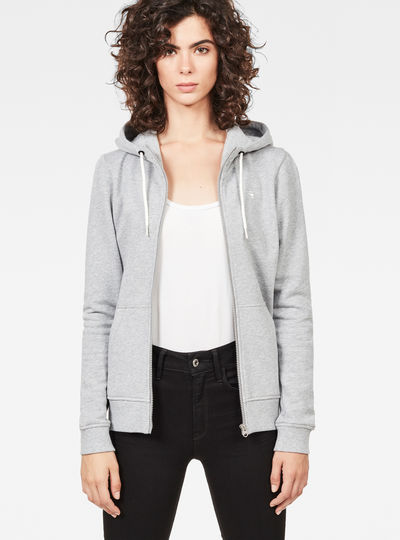 Aerva Slim Hooded Zip Thru Sweat