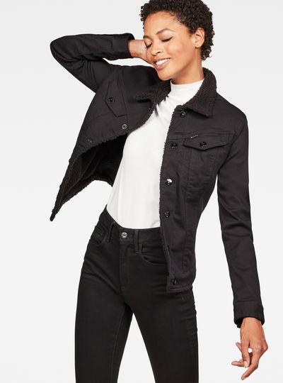 3301 Slim Sherpa Jacket