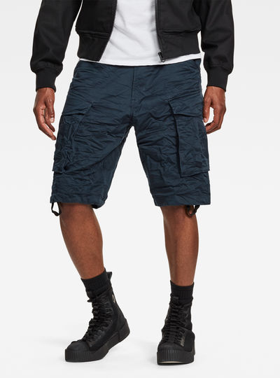 Rovic Belt Loose 1/2-Length Shorts