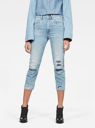 3301 Ultra-High waist Skinny 7/8 3D-Restored Jeans