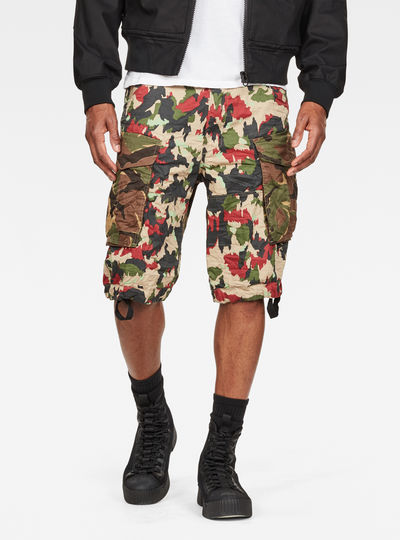 Rovic Raw Correct Relaxed 1/2-Length Shorts