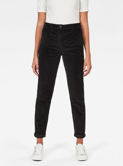 Bronson High Waist Boyfriend Chino