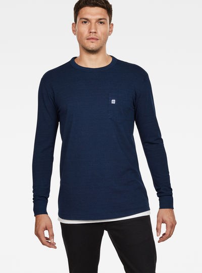 Core Pocket Indigo T-Shirt