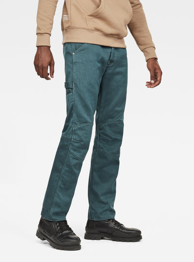 5622 Worker 3D Straight Colored Jeans